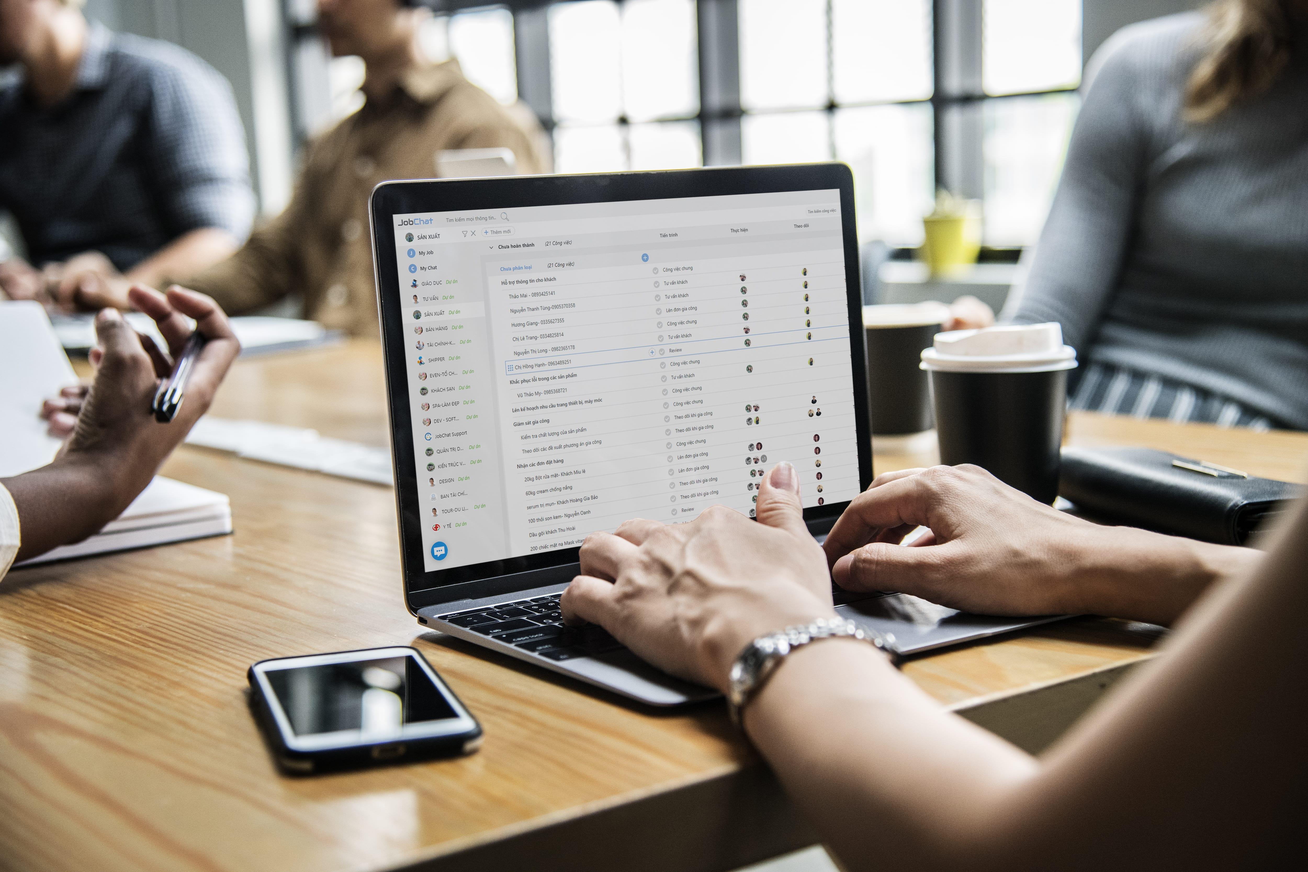 Phân công việc hiệu quả bằng phần mềm quản lý công việc