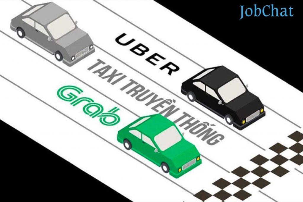 Taxi truyền thống đang bị tụt lùi
