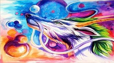 nghệ thuật sắc màu