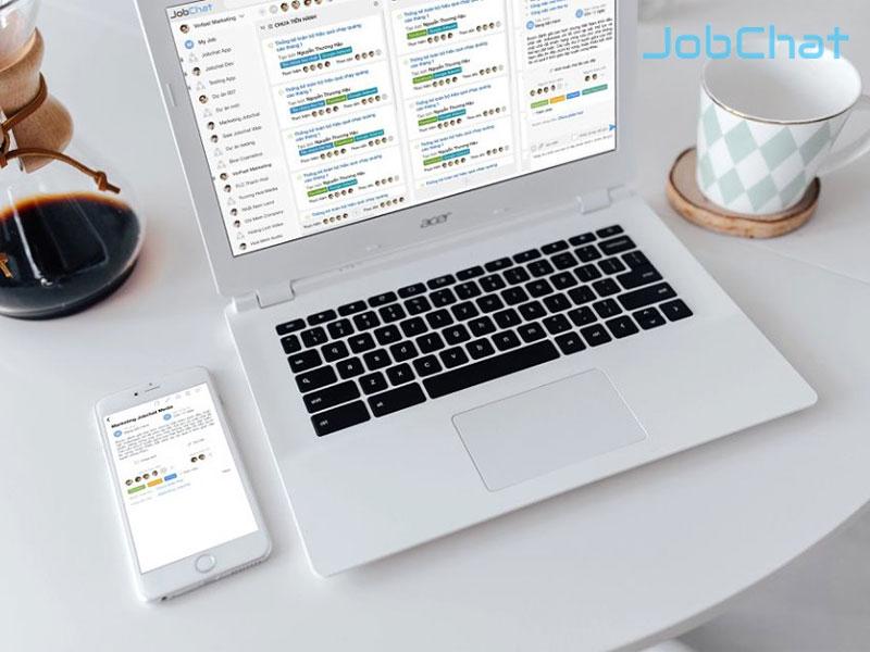 Áp dụng phần mềm quản lý công việc JobChat trong quá trình đào tạo nhân viên