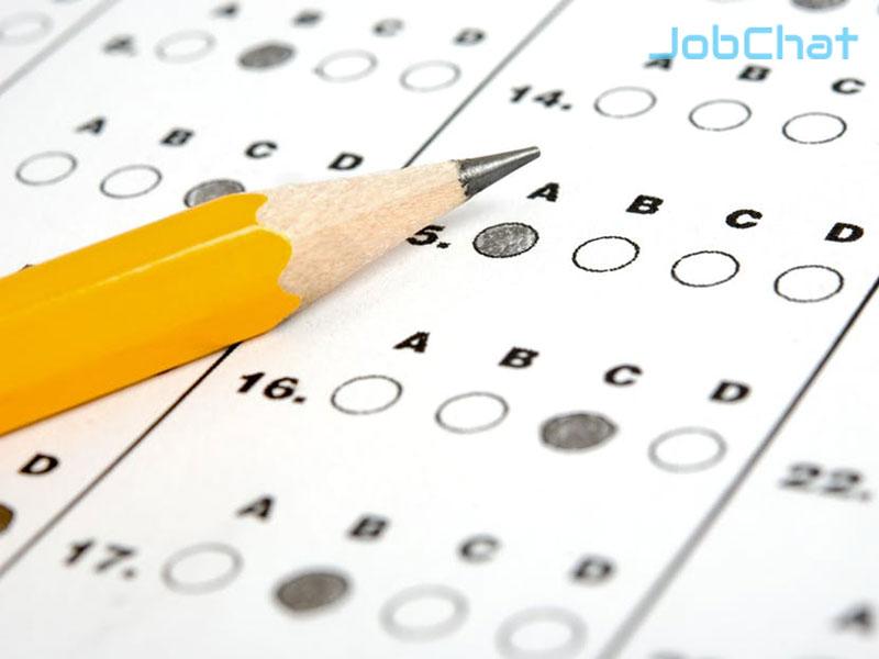 Cho nhân viên làm bài test