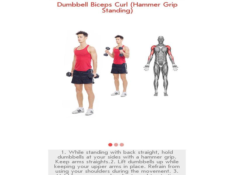 Ứng dụng tập gym gây nghiện- Fitness & Bodybuilding