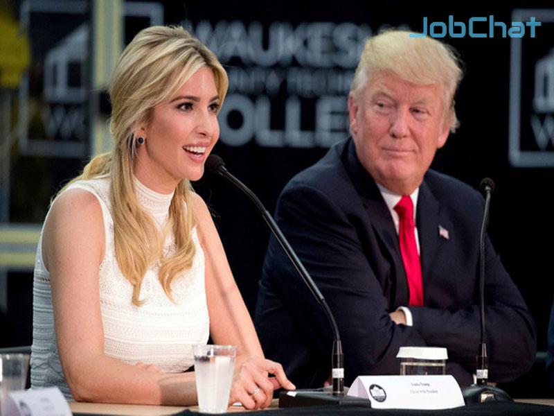 Cho phép con cái tham gia vào kinh doanh là lời khuyên của Donald Trump