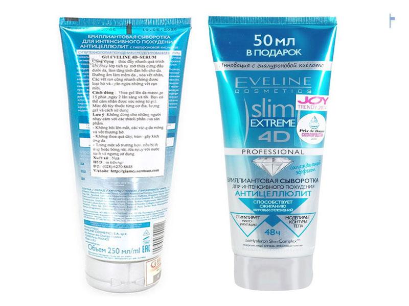 Slim 4D giúp giảm mỡ lâu năm