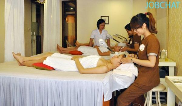 Các dịch vụ mà spa cung cấp cho khách hàng
