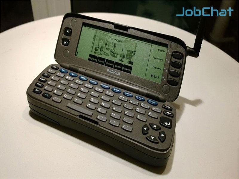 Lịch sử phát triển của smartphone1996