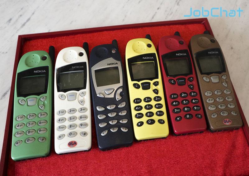 điện thoại năm 1998