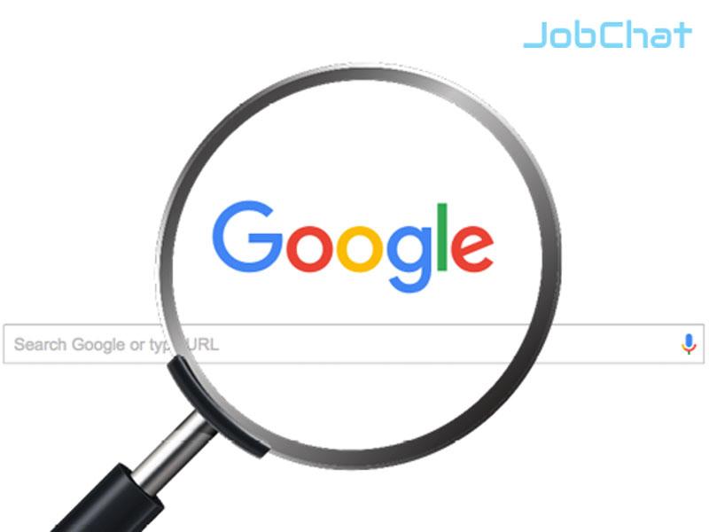 Gõ từ khóa trên Google
