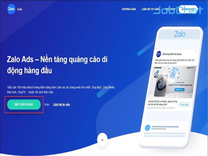 Hình thức tuyển dụng online bằng quảng cáo