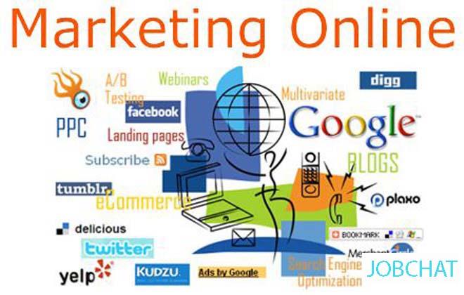 thay đổi hình thức marketing