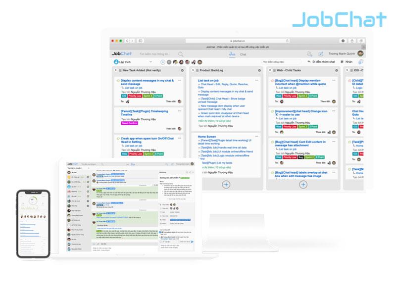 JobChat giúp nhà quản lý đưa ra quyết định sáng suốt.