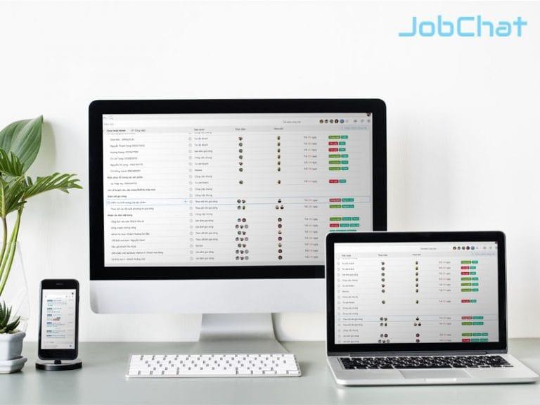 Phần mềm quản lý Jobchat