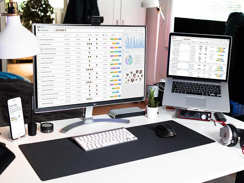 Phần mềm quản lý công việc online