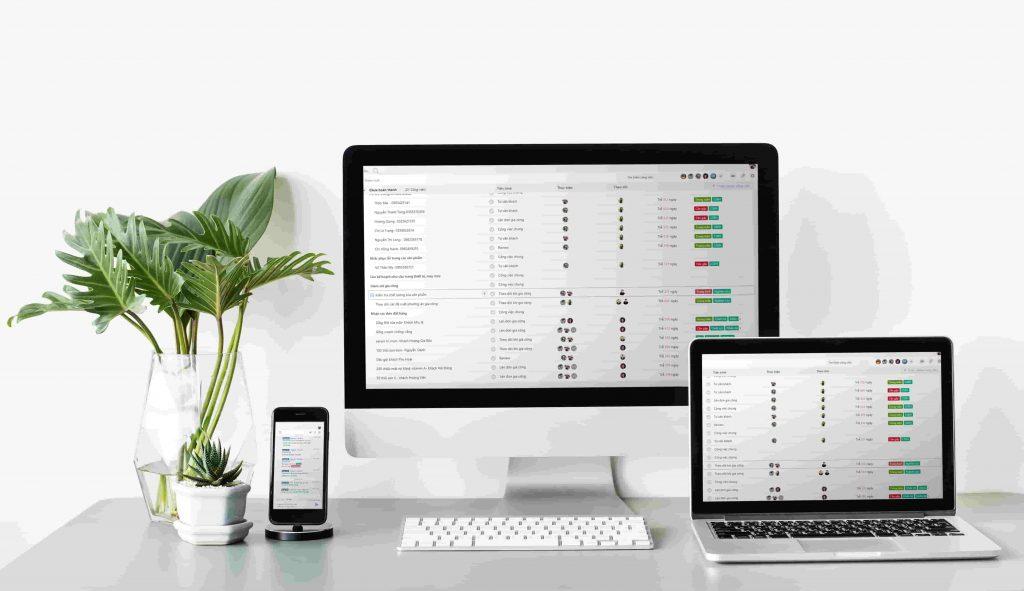 phần mềm quản lý Jobchat được hỗ trợ đa nền tảng