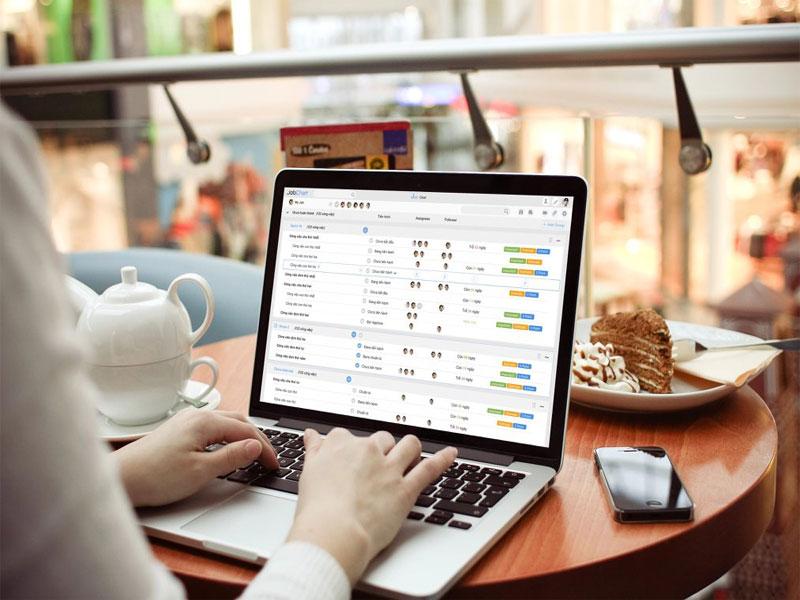 Tính năng quản lý thông tin khách hàng - Phần mềm JobChat