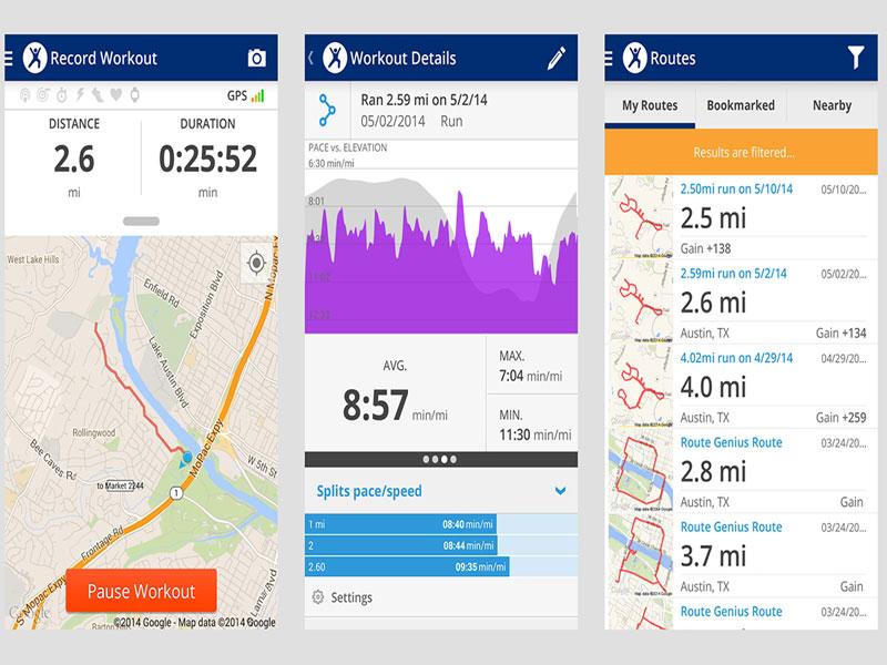 Map My Fitness Workout Trainer - ứng dụng tập gym gây nghiện triệu người mê