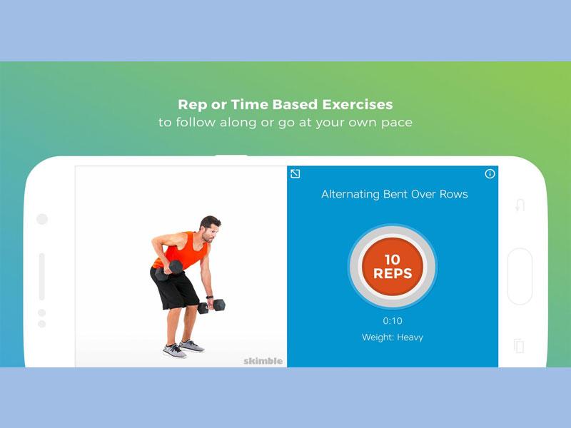Đánh tan nỗi lo về cân nặng - Workout Trainer