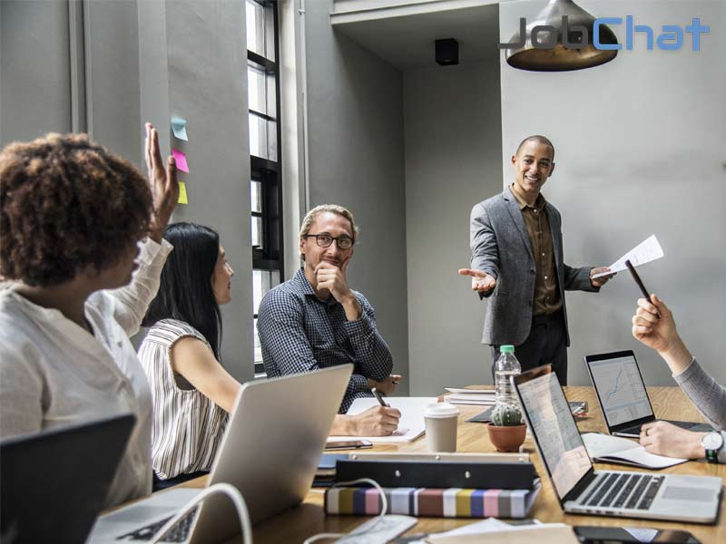 Jobchat quản lý công việc Marketing