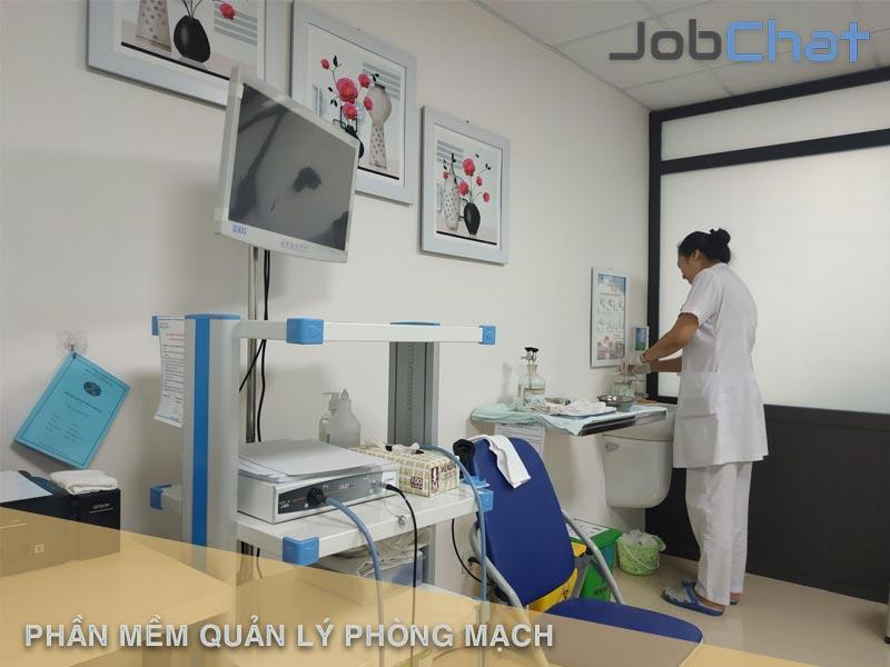 Phần mềm quản lý phòng mạch